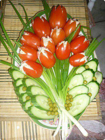 Салат тюльпан рецепт