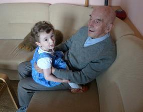 Můj milovaný pradědeček, který má už 92 let :)