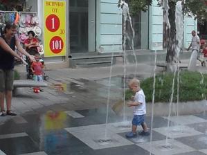 není nad pořádnou sprchu! co na tom, že je to v centru města :-D