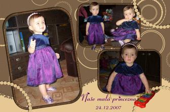 Naše krásná malá Vánoční princezna :-)