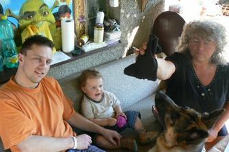 Na návštěvě u tetky Ivetky
