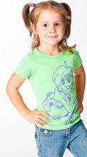 Dívčí triko s potiskem, 104