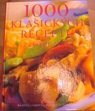 Kniha 1000 receptů z celého světa,