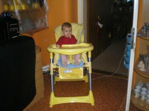 mám novou židli