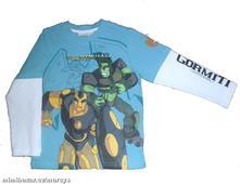 Chlapecké licenční triko gormiti, 110