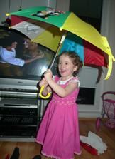 a dárečky :) Mega nadšení z deštníku :D