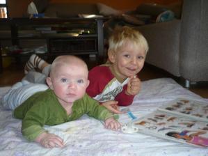 moji kluci listopad 2008, Lukášek už pase....