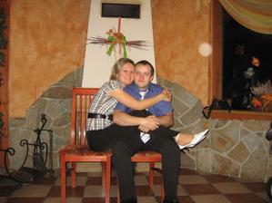 Maminka s tatínkem vyfoceni Kubíčkem :-)
