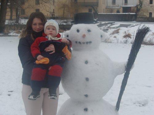 Lubošek s maminkou
