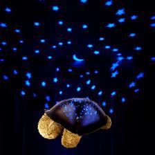 Želvička s noční oblohou, pro krásné spinkání :-)