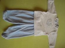 Podzimní komplet kalhoty a mikinka, kik,56