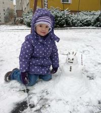 Sněhuláček :)