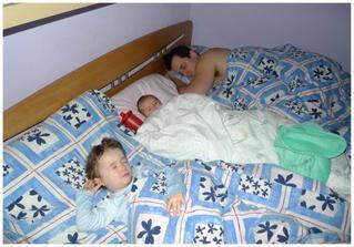 Tak to vypadá u nás po ránu (a kde mám spát jako já??? :))