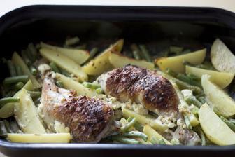 Pečené medové kuře s hořčicí - rozhodně budeme dělat každý měsíc, bylo to výborné!