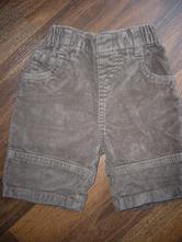 Kojenecké manšestrové kalhoty zn. st. bernard, 62