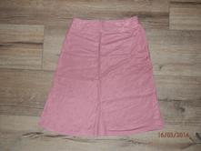 Růžová elegantní sukně, orsay,34