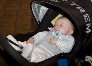 nejmenší svatebčánek usnul:-)
