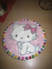 Muj vytvor pro Klárinku-dort č.2