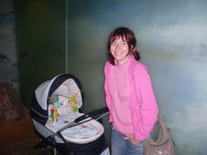 já s Lukáškem v zoo září 2008
