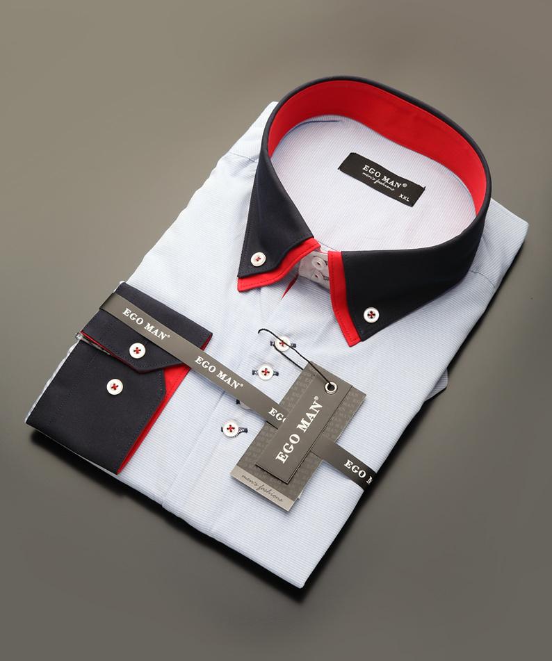 Pánské slim fit košile efe5405481