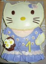 Můj nádherný dortík od babičky