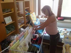 Praní prádla na mimi