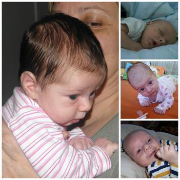2.měsíc vývoje dítěte