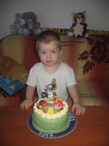 Náš tříletý lumpíček Kubíček :-)