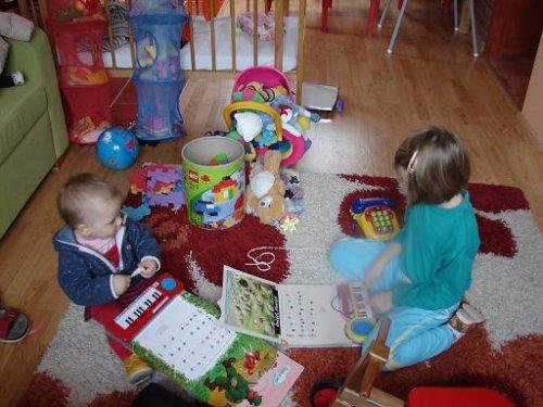 Testujeme vánoční dárky...:-) (26.12.08)
