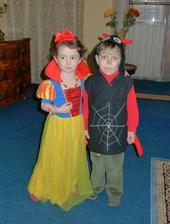 Na karnevalu se Štěpánkem pavoučkem :)