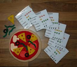 skládání pizzy dle návodu zdroj @misa1