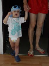 """Mami, nezdržuj!"" (jdeme poprvé k moři)"