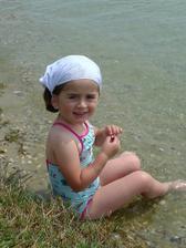 První den byla voda v jezeře trochu studená, ale stačil jeden tropický den a ohřála se..