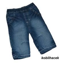 Modré džínečky s kapsami, cherokee,68