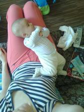tak malej a už se osamostatňuje a zdrhá :-))