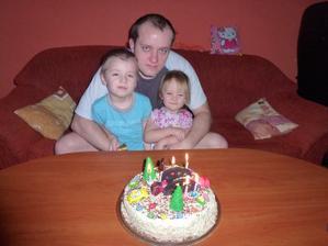 A s tatínkem:-)