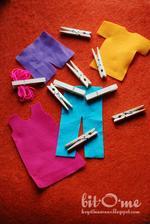 velké prádlo :-) trénink motoriky rukou při kolíčkování http://krystinaevans.blogspot.cz/2012/10/busy-bags-for-adalyn.html
