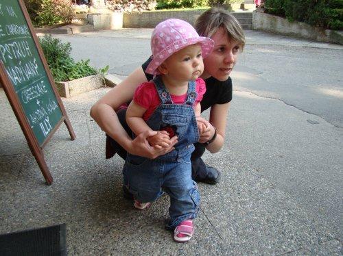 S tetou Helčou vyhlížím tatínka