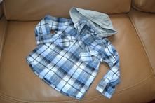 Pevnější bundo - košile s kapucí, pro v. 3-4 roky, next,98