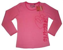 Dívčí triko s dlouhým rukávem coonoor , 116