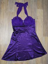 Saténové společenské šaty, bonprix,40