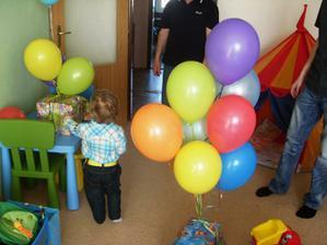 balonky byli lepší než dárky