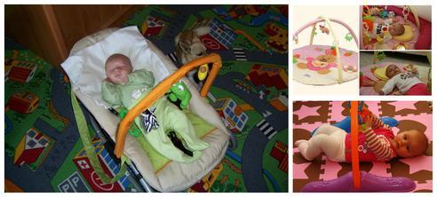 Hrací deky, hrazdičky, lehátka