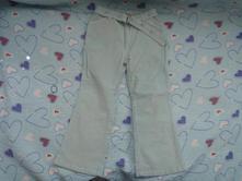 Sv. modré/ tyrkysové manžestrové kalhoty, girl2girl,116