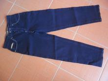 Tmavě modré džíny, c&a,152