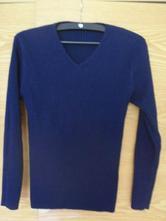 Temně modrý dámský svetřík, zn. alfa ladies, xl