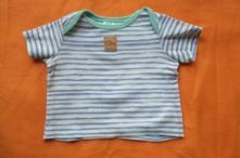Tričko s krátkým rukávem bavlněné, tesco,74
