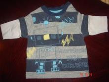 Pruhované tričko s robotem, cherokee,56