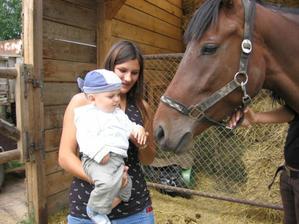 moje chůva a návštěva koníka