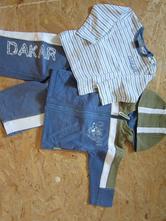 Tepláková souprava s tričkem s dlouhým rukávem, coccodrillo,74